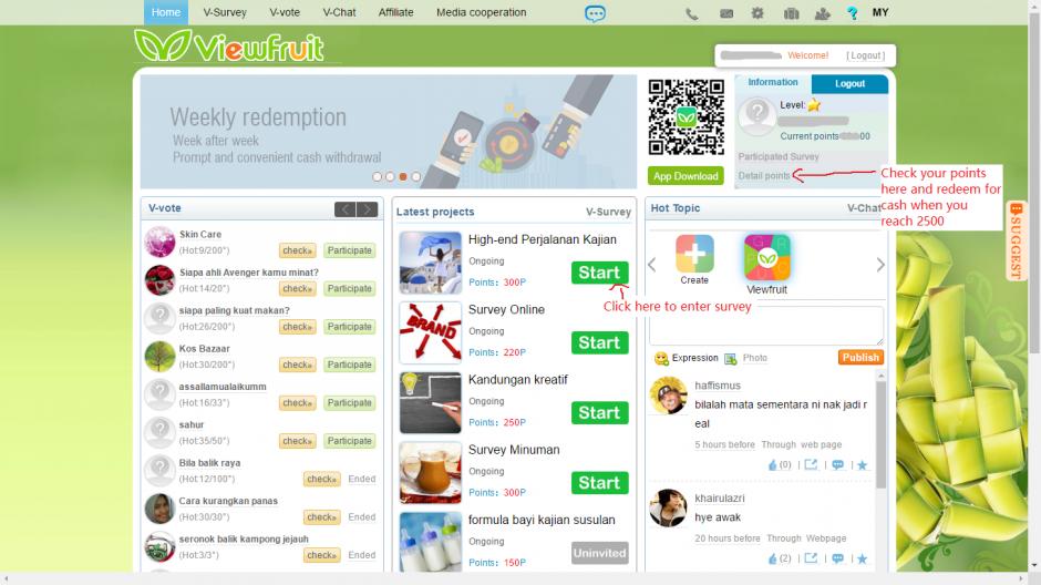 Viewfruit Payment Proof + Register Steps -在家上网赚钱M$$O